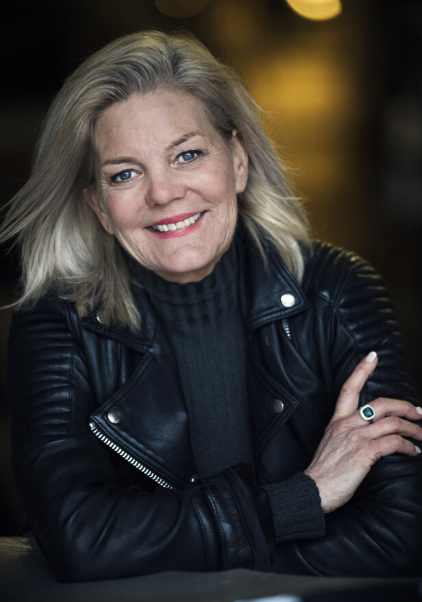 SELVSTENDIG: Lise har alltid hatt fokus på å være selvstendig - hun har aldri vært avhengig av en mann til å hjelpe seg. FOTO: Astrid Waller