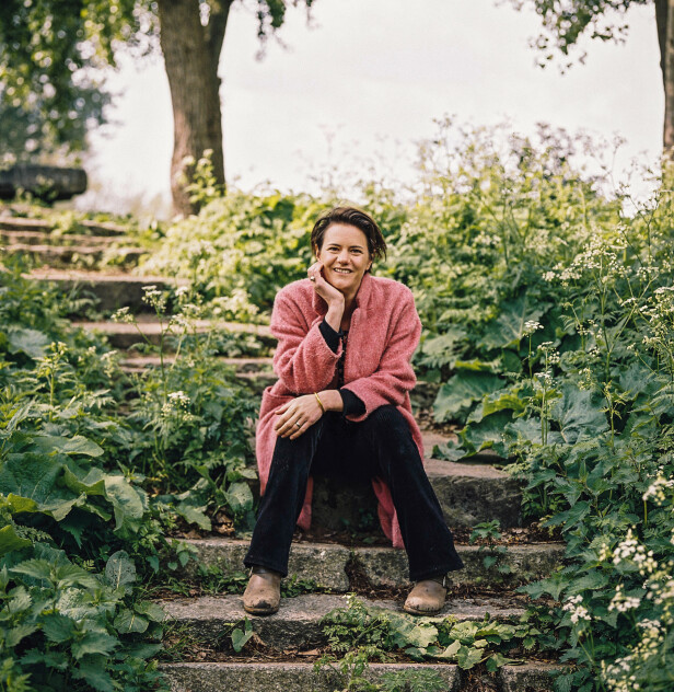 Forfatter Jocelyn De Kwant forteller til KK om tiden da hun oppdaget mindfulness. FOTO: Hanke Arkenbout