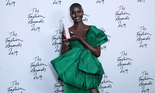 Adut har blitt kåret til Årets Modell to år på rad. FOTO: NTB Scanpix