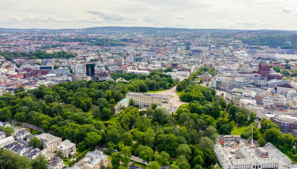 FØRSTEPLASS: Oslo stjal førsteplassen i kåringen av verdens beste by for velvære, i stor grad takket være det faktum at 68 prosent av hovedstadens offentlige rom består av frodige parker og hager. FOTO: NTB Scanpix