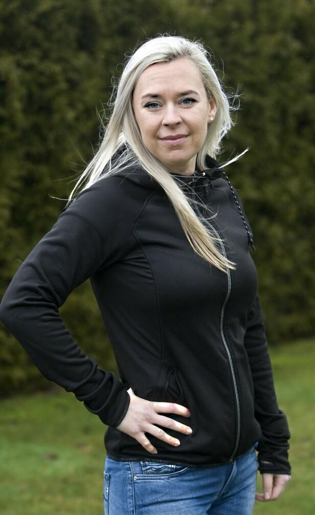 SPORTY: Marialla klarte ikke å se for seg at hun var syk. Hun hadde jo nettopp løpt halvmaraton. FOTO: Arne Forsell