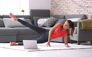 Treningsøkta du kan gjøre hjemme i stua