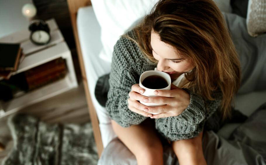 <strong>KONSENTRASJON:</strong> Kaffe øker konsentrasjonen vår, men det gjør også trening. FOTO: NTB Scanpix