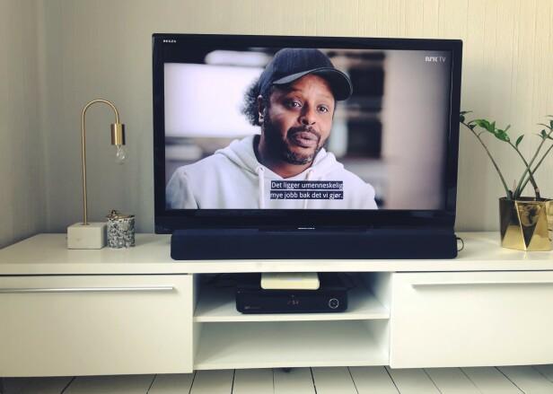 OPPDAGET NY PERLE: Utgavesjef Stine Therese Strand har lagt sin elsk på NRK-programmet Datoen. Tre personer født på samme dag - hvilke retning tok livene deres? Det får vi svar på i serien. FOTO: Privat