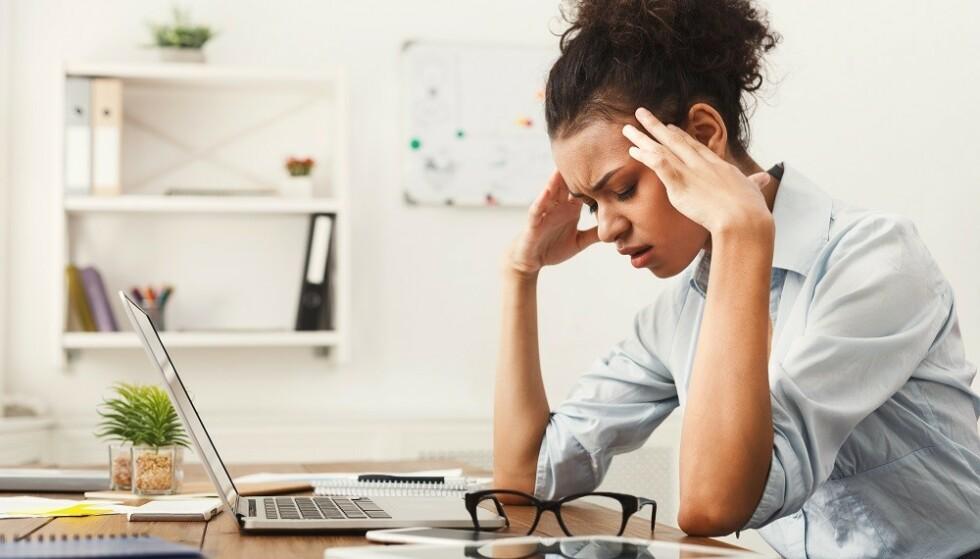 STRESSER MYE: Noen kan la seg stresse lettere enn andre. FOTO: NTB Scanpix