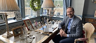 Kronprins Haakons rørende gest til Ari Behn