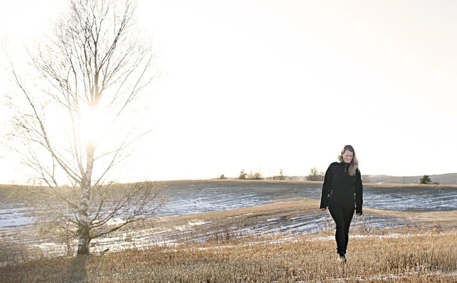 ALVDAL-SAKEN: – Jeg fikk troen på et bra liv, jeg kom meg i arbeid, og jeg tør være den jeg er, sier Eline. FOTO: Geir Dokken