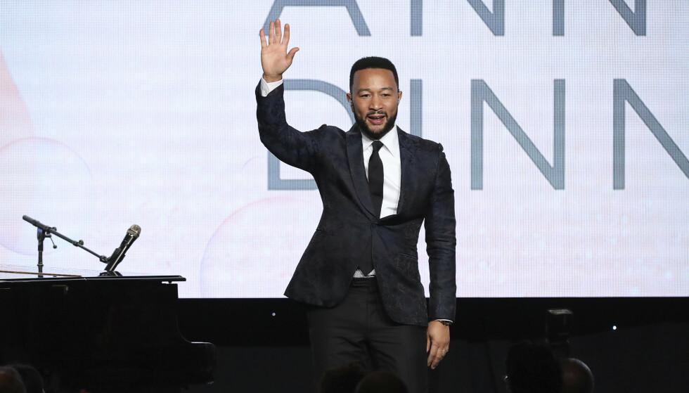 LEGENDARISK: Stephens var det opprinnelige etternavnet til John Legend. FOTO: NTB Scanpix