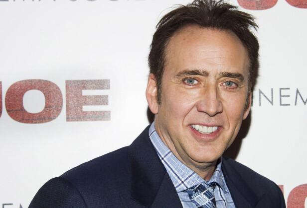 KLARE SEG SJØL: Nicolas Cage sa fra seg Coppola-navnet, til tross for at det hadde en klang av filmsuksess. FOTO: NTB Scanpix