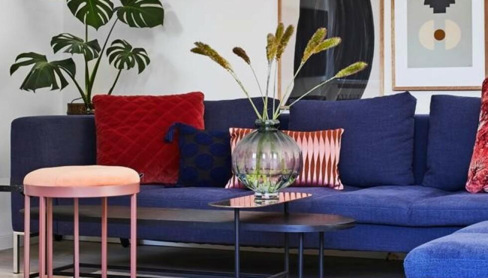 Lek deg med farger i hjemmet!