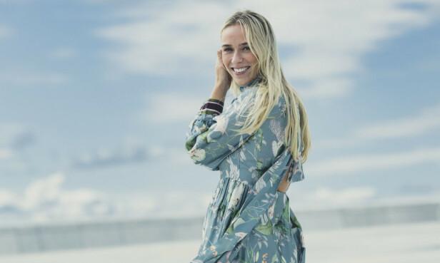 GRAVID: TV-profilen Katarina Flatland venter sitt første barn. FOTO: Astrid Waller // KK