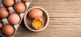 Visste du at du kan spise eggeskallet?