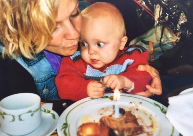 PREMATUR: Oliver ble født tre måneder for tidlig, men var aldri syk som barn - annet enn at han var veldig skjør og liten av vekst. FOTO: Privat