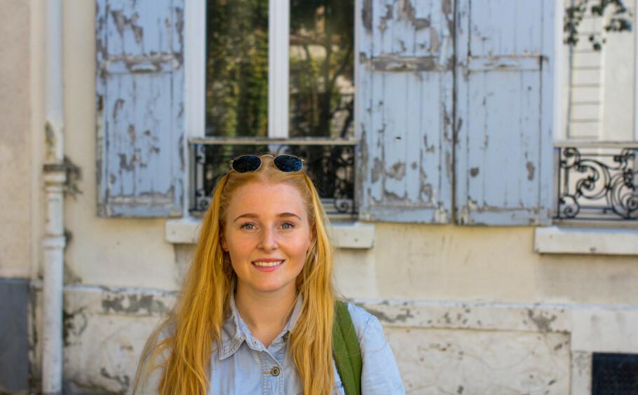 DØDEN: Journalist Ingrid Vatnar Eikje (24) har laget podkast om døden. For å få det til måtte hun ringe en drapsmann. FOTO: Privat