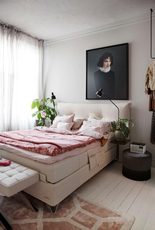 ANBEFALER ROSA: - Jeg er veldig glad i rosanyanser, sier Tone Kroken. Foto: Annette Nordstrøm