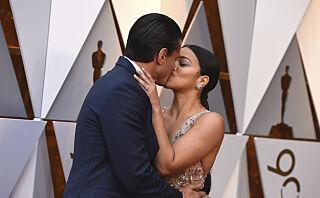 TV-stjernen møtte forloveden da han strippet for henne