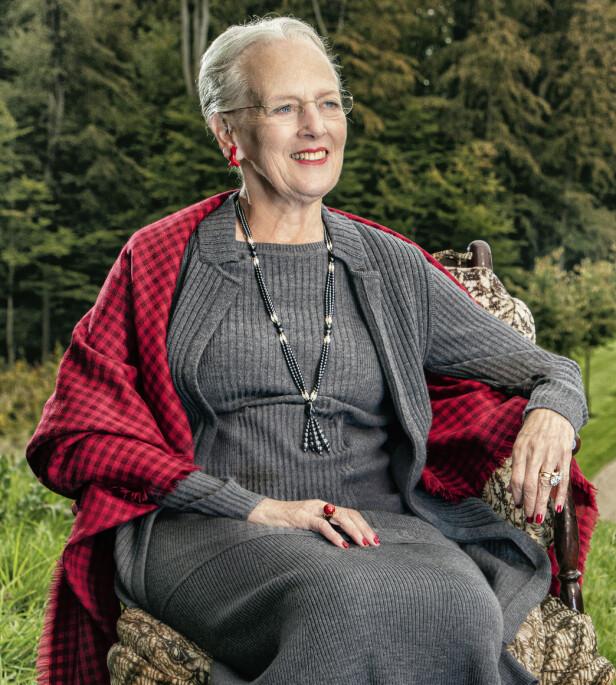 FLOTT: Nytt offisielt portrettfoto av dronning Margrethe ble sluppet i anledning 80-årsdagen i april 2020. FOTO: Per Morten Abrahamsen