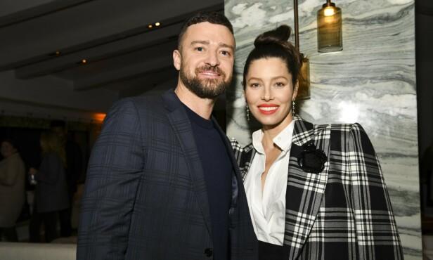 GIFT: Artist Justin Timberlake er gift med skuespiller Jessica Biel. FOTO: NTB scanpix