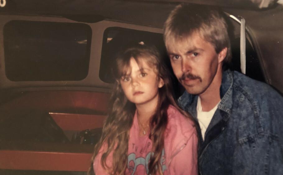 SCANDINAVIAN STAR: Eldstedatteren Anita hadde et helt spesielt forhold til pappa Nils. Dessverre fikk de bare åtte år sammen. FOTO: Privat