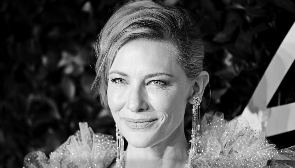 ELSKER JOBBEN: - Jeg klarer ikke si nei til nye jobber, sier Cate Blanchett. FOTO: NTB scanpix