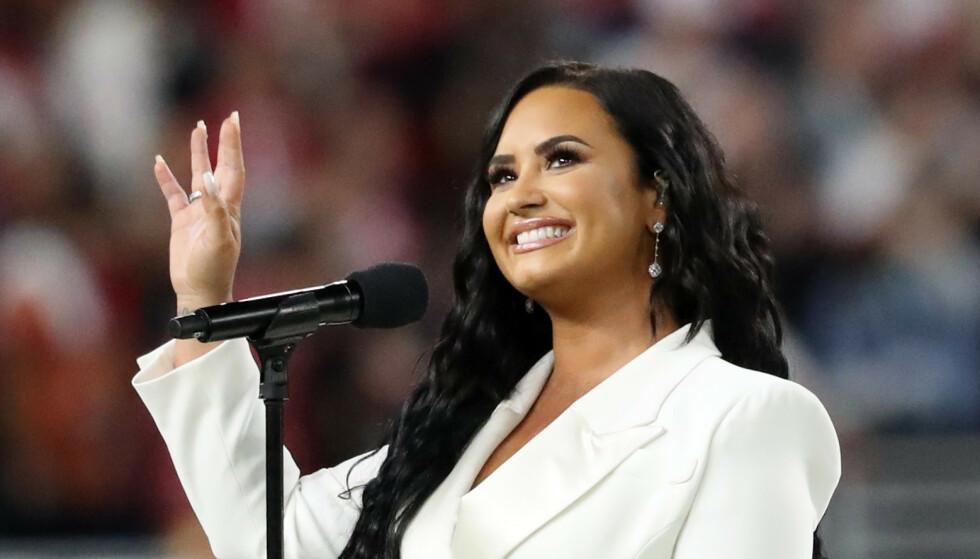 ÅPEN OM Å VÆRE ÅPEN: Demi Lovato (27) åpner opp om spiseforstyrrelser, rusproblemer og at hun kan se for seg å skape en familie en gang, men ikke nødvendigvis sammen med en mann. Foto: NtbScanpix