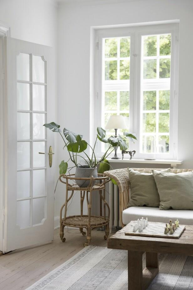 Tips! Naturlige materialer gir en mykhet og varme til et hjem. FOTO: Stine Christiansen