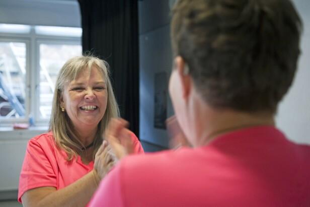 – Jeg har klart å finne fram det store smilet igjen ved å være en del av dansefellesskapet, sier Merete Palm Eskildsen.