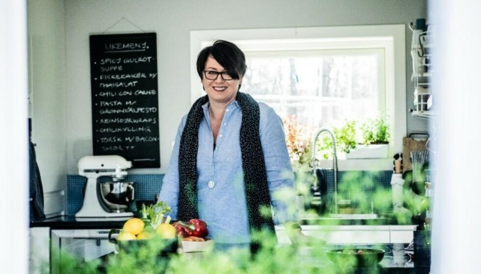 TRINES MATBLOGG: Trine Sandberg står bak Norges største matblogg. Foto: Aller Concept Store