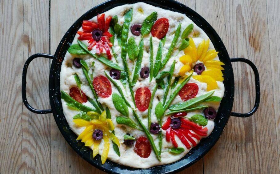 ET KUNSTVERK: Hvem vil vel ikke servere (og spise) dette? Foto: Helle Øder Valebrokk