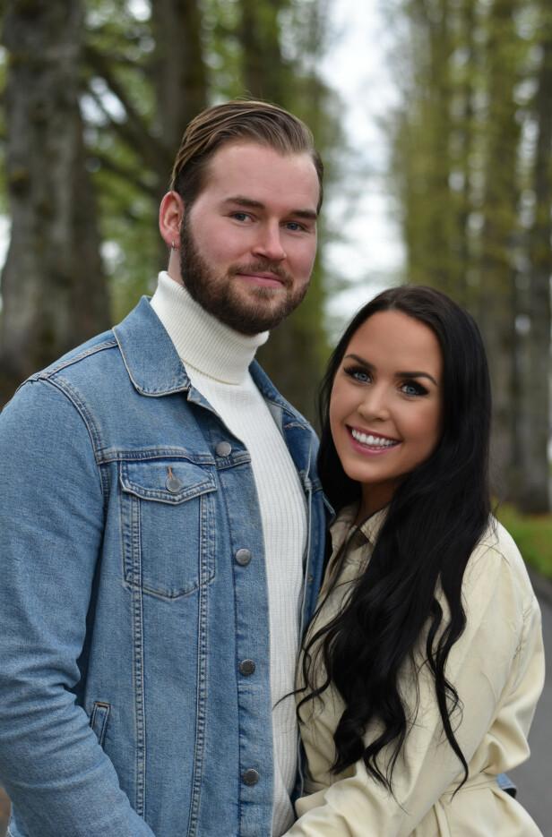 <strong>TRYGGHET:</strong> I dag er June samboer med Thomas Førde. Før hun møtte ham, hadde hun store problemer med å stole på gutter. FOTO: Privat