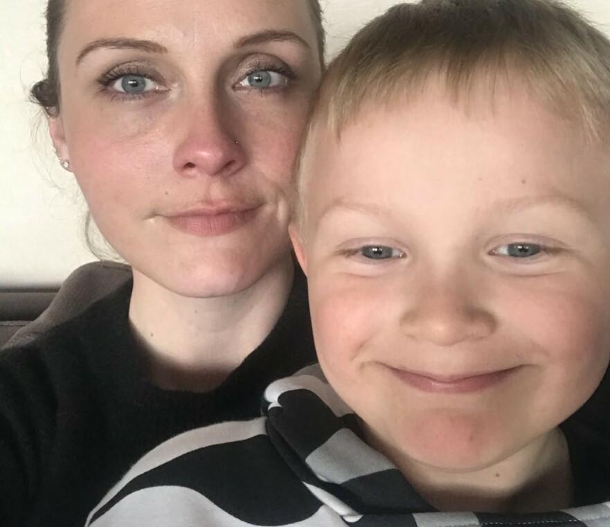 MIGRENE HOS BARN: Først da Lucas ble gammel nok til å kunne fortelle om hodepinen, fikk han diagnosen migrene. FOTO: Privat