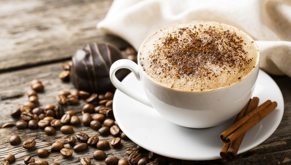 SØT SMAK: Den nye studien viser at smakssansen vår blir mer følsom for søtsaker av kaffe. FOTO: NTB Scanpix