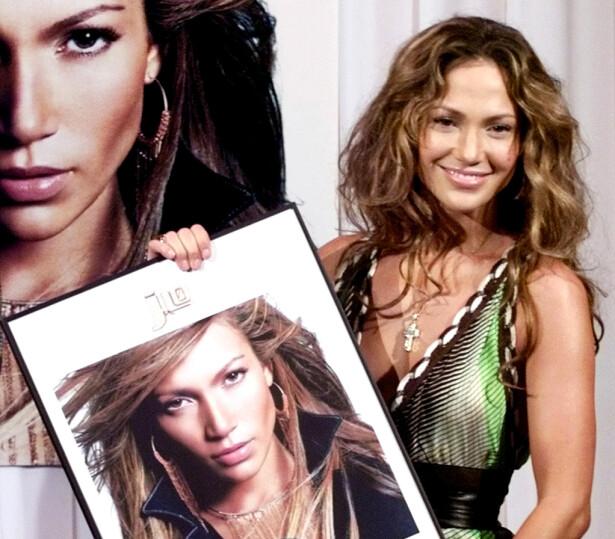 TILBAKEBLIKK: Prisutdeling i Spania for å ha solgt over 200.000 eksemplarer av albumet J.Lo i 2005. Foto: NTB Scanpix