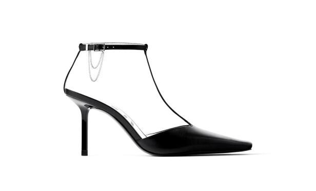Høye hæler (kr 700, Zara).