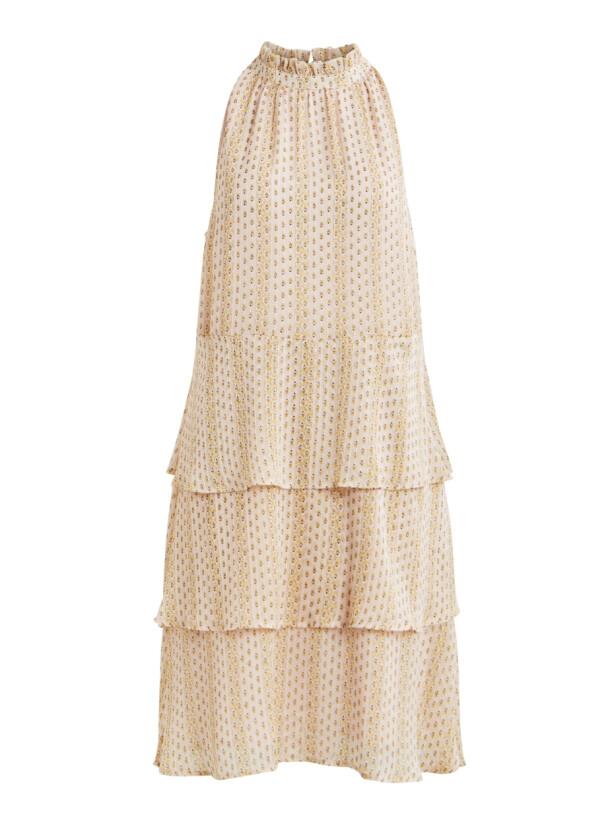 Pudderfarget kjole (kr 550, Vila).