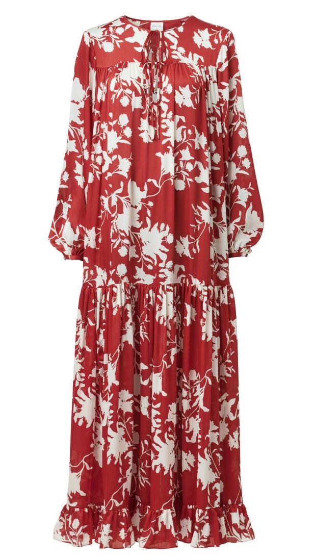 Lang kjole (kr 500, H&M x Johanna Ortiz).