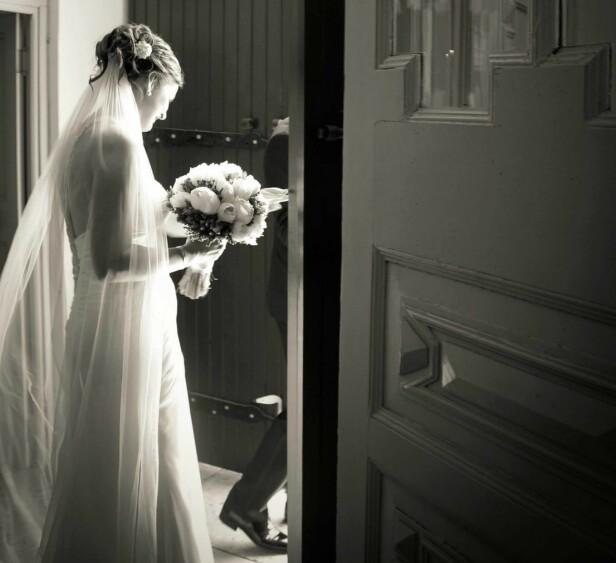 BRYLLUPET: Ana og Geir ble gift på Hvar i Kroatia, hvor hun har familie, i 2013. FOTO: Privat