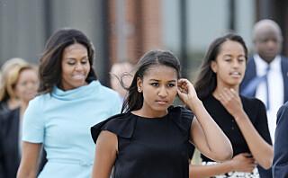 Obama-døtrene overrasket i sitt første offisielle intervju