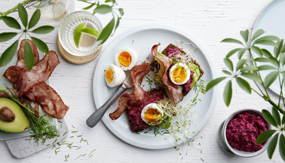 NYHET: Go' & Mager Bacon fra Gilde kan nytes til både frokost, lunsj og middag. FOTO: Nortura