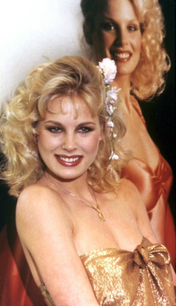 ÅRETS: Dorothy Stratten da hun ble kåret til Playmate of the Year i 1980. FOTO: NTB Scanpix