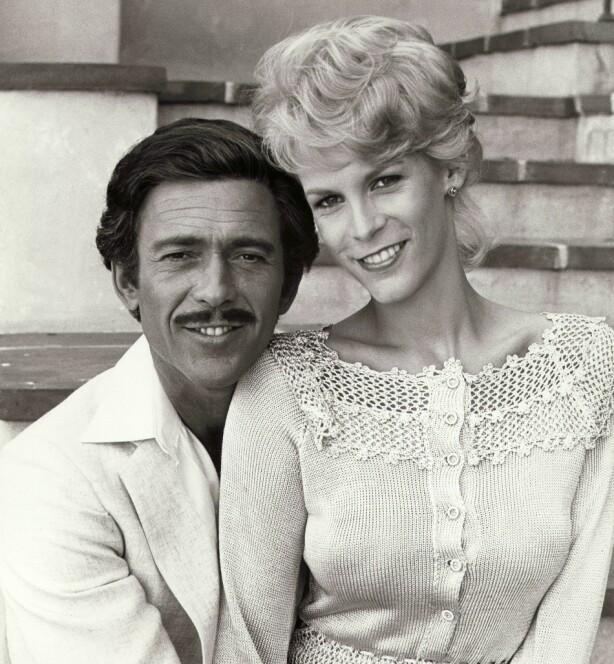 MIDTSIDE: Jamie Lee Curtis i rollen som Dorothy Stratten i filmen «Death of a Centerfold» (1981) regissert av Gabrielle Beaumont. Bruce Weitz spilte Paul Snider. FOTO: NTB Scanpix