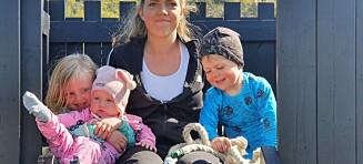 Da Camilla var gravid med den yngste, ammet hun de to eldste