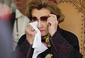 Den sterke 8. mai-talen til kaptein CamillaBrevik Hågensen rørte dronning Sonja til tårer