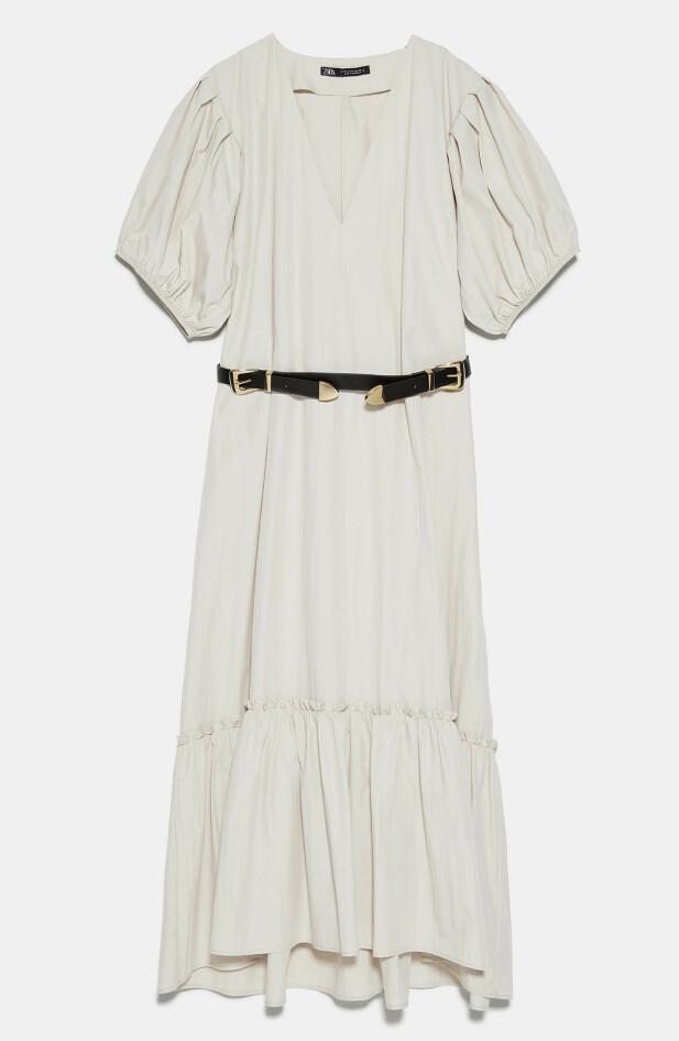 Med belte (kr 600, Zara).