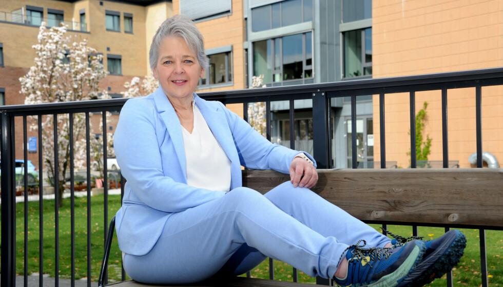GIKK NED NESTEN 50 KILO: Christel var klar kandidat for slankeoperasjon, men ville klare det på egenhånd, og det gjorde hun. FOTO: Marianne Otterdahl-Jensen
