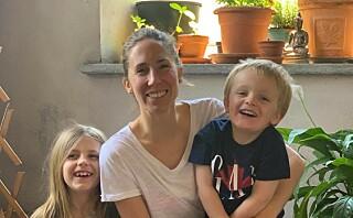 I åtte uker var Michelle innesperret med barna i byleiligheten