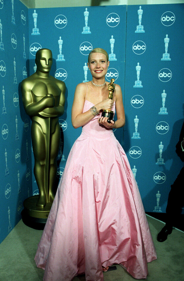 OSCAR I 1999: Gwyneth Paltrow. Foto: NTB Scanpix