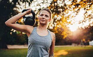 8 gode øvelser for deg som har kettlebell