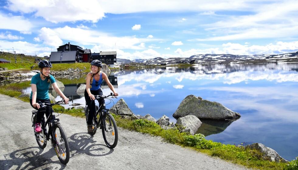 <strong>NASJONALROMANTIKK:</strong> Rallarvegen er 80 kilometer lang og strekker seg fra Haugastøl til Finse, videre til Myrdal og Flåm. FOTO: Mari Bareksten