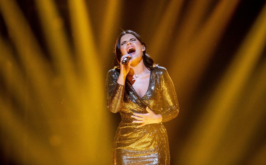 POPULÆR: Ulrikke Brandstorps Eurovision-bidrag gjør det svært godt på strømmetjenesten Spotify. Foto. NTB Scanpix